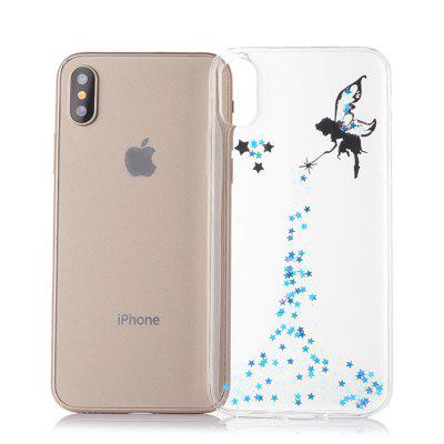 TPU Material Angel Girl Pattern Phone Case for iPhone XiPhone Cases/Covers<br>TPU Material Angel Girl Pattern Phone Case for iPhone X<br><br>Compatible for Apple: iPhone X<br>Features: Back Cover<br>Material: TPU<br>Package Contents: 1 x Phone Cover Case<br>Package size (L x W x H): 16.00 x 8.00 x 2.00 cm / 6.3 x 3.15 x 0.79 inches<br>Package weight: 0.0340 kg<br>Product size (L x W x H): 14.60 x 7.00 x 1.00 cm / 5.75 x 2.76 x 0.39 inches<br>Product weight: 0.0240 kg<br>Style: Pattern, Modern