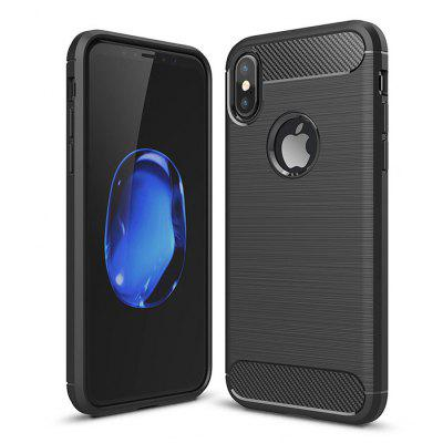 Luanke Classic Style TPU Back Cover Case for iPhone X