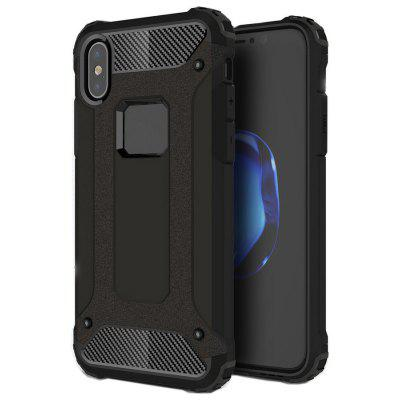 Buy BLACK ASLING TPU Protective Case Bumper Cover for iPhone X for $3.42 in GearBest store