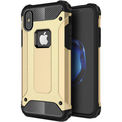 Buy GOLDEN ASLING TPU Protective Case Bumper Cover for iPhone X for $3.42 in GearBest store