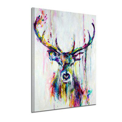 Modern Elk Pattern Unframed Decorative Canvas PrintPrints<br>Modern Elk Pattern Unframed Decorative Canvas Print<br><br>Craft: Print<br>Form: One Panel<br>Material: Canvas<br>Package Contents: 1 x Print<br>Package size (L x W x H): 55.00 x 3.60 x 3.60 cm / 21.65 x 1.42 x 1.42 inches<br>Package weight: 0.0650 kg<br>Painting: Without Inner Frame<br>Product weight: 0.0580 kg<br>Shape: Vertical<br>Style: Modern, Waterproof, Animal<br>Subjects: Animal<br>Suitable Space: Cafes,Dining Room,Entry,Hallway,Hotel,Kids Room,Kitchen,Living Room