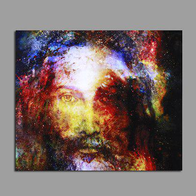 Gearbest Modern Jesus Pattern Unframed Decorative Canvas Print - COLORFUL - 4,25€