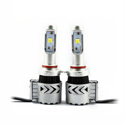 2pcs 9005 LED Converted Headlights for Auto Car 12 - 24V