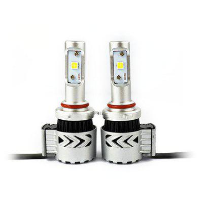 2pcs S1 LED Headlights 9006 Fog Lamp for Auto Car 12 - 24V