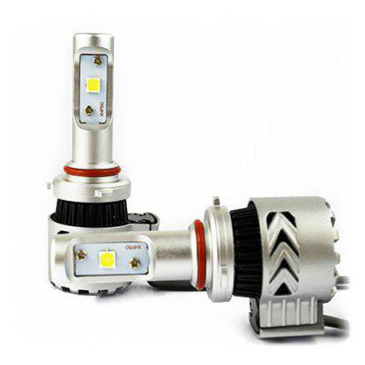 2pcs 9012 LED Wide Voltage Car Headlights 12 - 24V