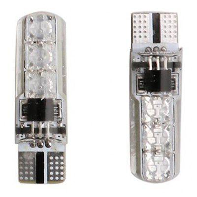 2PCS New Style RGB T10   6SMD Silicone Car Light 225197401