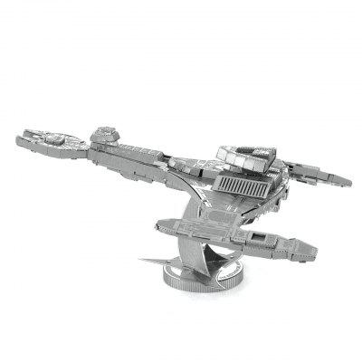 3D Metal Puzzle Sci-Fi Spacecraft Model ToyLogic &amp; Puzzle Toys<br>3D Metal Puzzle Sci-Fi Spacecraft Model Toy<br><br>Gender: Unisex<br>Materials: Metal<br>Package Contents: 2 x Metal Sheet, 1 x Global Graphic Illustration<br>Package size: 17.00 x 12.00 x 0.20 cm / 6.69 x 4.72 x 0.08 inches<br>Package weight: 0.0500 kg<br>Product size: 10.90 x 8.20 x 4.50 cm / 4.29 x 3.23 x 1.77 inches<br>Product weight: 0.0400 kg<br>Stem From: China<br>Style: Other<br>Theme: Fantasy and Sci-fi<br>Type: 3D Puzzle