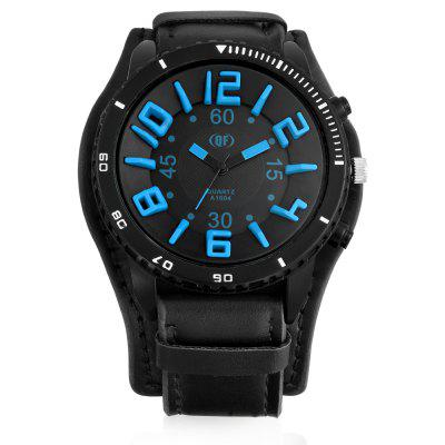 A1604 Fashion Male Leather Band Watch with Pin BuckleMens Watches<br>A1604 Fashion Male Leather Band Watch with Pin Buckle<br><br>Band material: Leather<br>Band size: 24 x 2.4cm<br>Case material: Alloy<br>Clasp type: Pin buckle<br>Dial size: 5 x 5 x 2cm<br>Display type: Analog<br>Movement type: Quartz watch<br>Package Contents: 1 x Watch, 1 x Box<br>Package size (L x W x H): 8.50 x 8.00 x 5.50 cm / 3.35 x 3.15 x 2.17 inches<br>Package weight: 0.1900 kg<br>Product size (L x W x H): 24.00 x 5.00 x 2.00 cm / 9.45 x 1.97 x 0.79 inches<br>Product weight: 0.0780 kg<br>Shape of the dial: Round<br>Watch mirror: Acrylic<br>Watch style: Casual<br>Watches categories: Men
