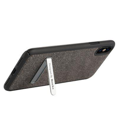 Benks Brownie Series Mobile Phone Case for iPhone XiPhone Cases/Covers<br>Benks Brownie Series Mobile Phone Case for iPhone X<br><br>Brand: Benks<br>Compatible for Apple: iPhone X<br>Features: Back Cover<br>Material: Denim, PC<br>Package Contents: 1 x Cover Case<br>Package size (L x W x H): 22.30 x 11.70 x 2.50 cm / 8.78 x 4.61 x 0.98 inches<br>Package weight: 0.0950 kg<br>Product size (L x W x H): 14.60 x 7.50 x 1.20 cm / 5.75 x 2.95 x 0.47 inches<br>Product weight: 0.0420 kg<br>Style: Modern