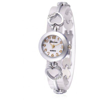 Geneva A309 Bracelet Buckle Alloy Women Quartz Watch