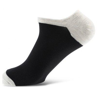 6 Pares Men Casual No Show Socks