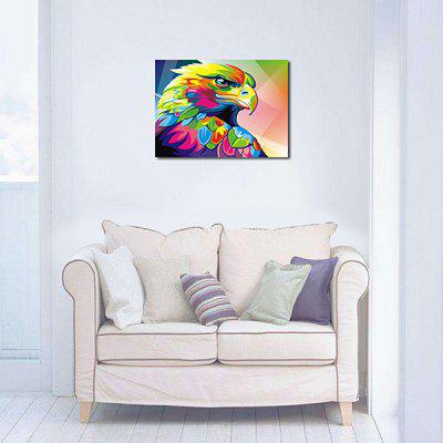 Modern Eagle Pattern Unframed Decorative Canvas Print