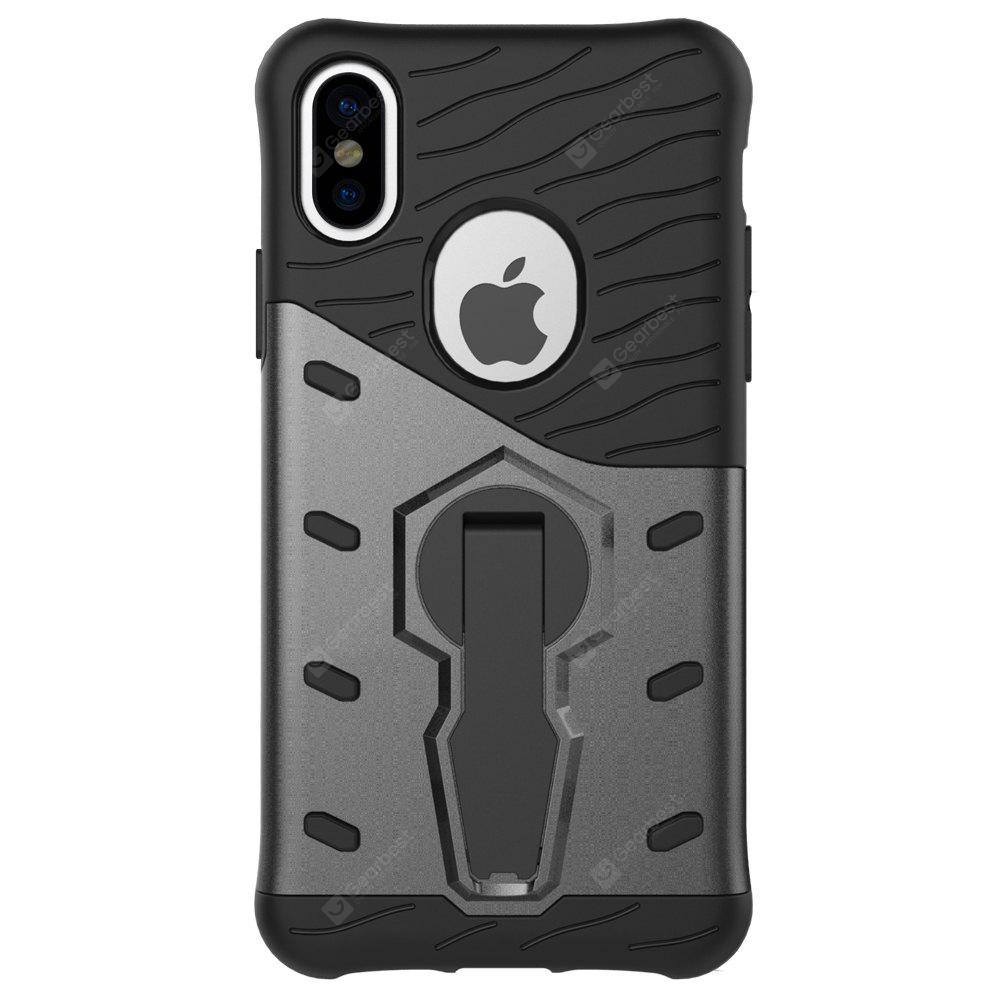 ASLING Durable 360 Degree Rotating Bumper Case iPhone X