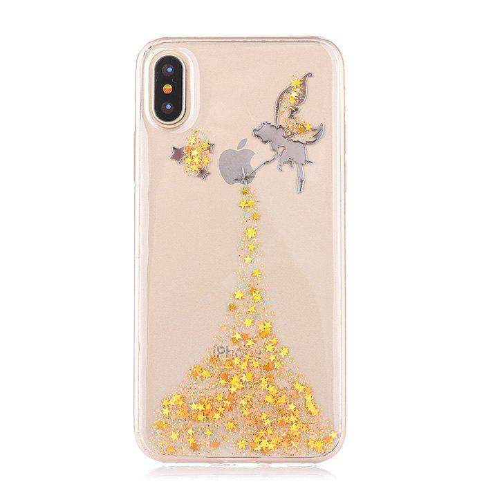 TPU Material Angel Girl Pattern Phone Case for iPhone X