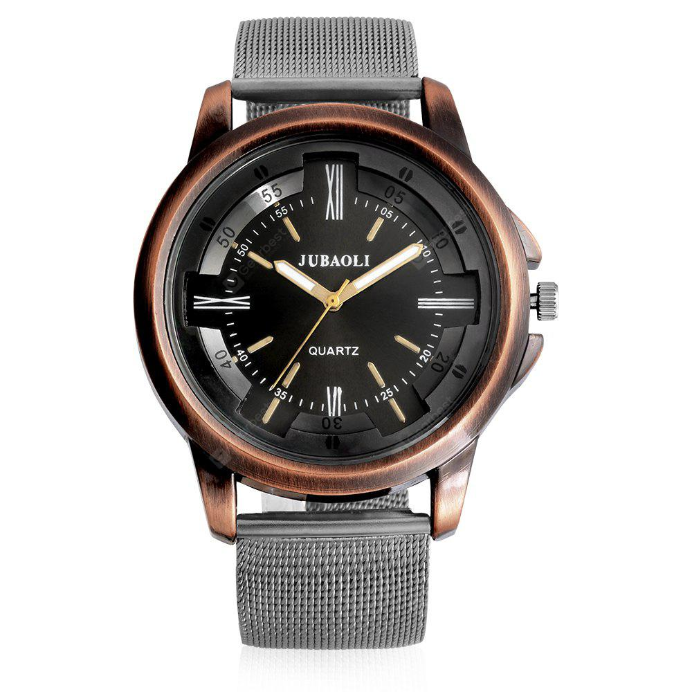 Jubaoli A2010 Male Quartz Watch with Mesh Band