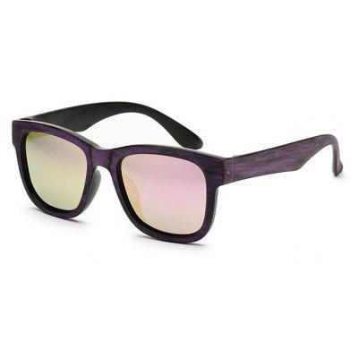 Buy PURPLE Western Style Classic Unisex Square Lens Sunglasses for $12.87 in GearBest store