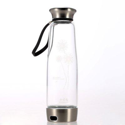 500ml Colorful Light Portable Hydrogen Rich Water BottleWater Filter<br>500ml Colorful Light Portable Hydrogen Rich Water Bottle<br><br>Cord Length: 10cm<br>Material: Glass, Stainless Steel<br>Package Contents: 1 x Hydrogen Rich Water Ionizer, 1 x USB Cable, 1 x Non-slip Bottle Coat<br>Package size (L x W x H): 33.00 x 12.00 x 16.00 cm / 12.99 x 4.72 x 6.3 inches<br>Package weight: 0.7500 kg<br>Product size (L x W x H): 6.50 x 2.45 x 2.60 cm / 2.56 x 0.96 x 1.02 inches<br>Product weight: 0.4800 kg<br>Type: Handheld<br>Voltage (V): 5V