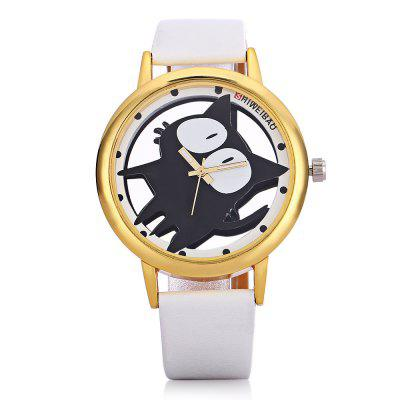 SHI WEI BAO A7741 Leather Strap Round Dial Quartz WatchUnisex Watches<br>SHI WEI BAO A7741 Leather Strap Round Dial Quartz Watch<br><br>Band material: Leather<br>Band size: 24.48 x 1.6 cm<br>Brand: Shiweibao<br>Case material: Alloys<br>Clasp type: Sheet folding clasp<br>Dial size: 3.9 x 3.9 x 0.89 cm<br>Display type: Analog<br>Movement type: Quartz watch<br>Package Contents: 1 x Watch<br>Package size (L x W x H): 26.48 x 5.90 x 2.89 cm / 10.43 x 2.32 x 1.14 inches<br>Package weight: 0.0540 kg<br>People: Unisex table<br>Product size (L x W x H): 24.48 x 3.90 x 0.89 cm / 9.64 x 1.54 x 0.35 inches<br>Product weight: 0.0340 kg<br>Shape of the dial: Round<br>Watch style: Fashion<br>Wearable length: 18.5 - 22 cm