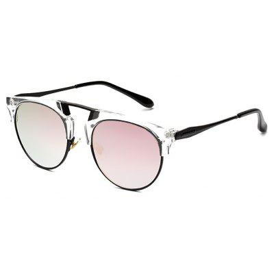 Buy PINK Reflective Classic Unisex Sunglasses for $7.46 in GearBest store