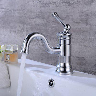 Buy SILVER LINGHAO Modern Bathroom Sink Faucet Basin Mixer Tap for $71.16 in GearBest store