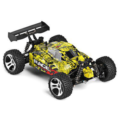 WLtoys 18401 1:18 4WD RC Off-road Car - RTRRC Cars<br>WLtoys 18401 1:18 4WD RC Off-road Car - RTR<br><br>Battery Information: 6.4V 500mAh LiCo<br>Brand: WLtoys<br>Car Power: Built-in rechargeable battery<br>Charging Time: 120 Minutes<br>Control Distance: 30-80m<br>Detailed Control Distance: About 50m<br>Drive Type: 4 WD<br>Features: Radio Control<br>Material: ABS, Electronic Components, PA<br>Motor Type: Brushed Motor<br>Package Contents: 1 x RC Car ( Battery Included ), 1 x Transmitter, 1 x USB Cable, 1 x English Manual<br>Package size (L x W x H): 43.00 x 25.50 x 21.50 cm / 16.93 x 10.04 x 8.46 inches<br>Package weight: 1.6600 kg<br>Product size (L x W x H): 24.50 x 17.50 x 9.40 cm / 9.65 x 6.89 x 3.7 inches<br>Product weight: 0.6500 kg<br>Proportion: 1:18<br>Racing Time: 10mins<br>Remote Control: 2.4GHz Wireless Remote Control<br>Speed: 22km/h<br>Transmitter Power: 4 x 1.5V AA (not included)<br>Type: Off-Road Car