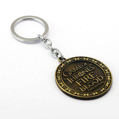 Stylish Relievo Pattern Zinc Alloy Key RingKey Chains<br>Stylish Relievo Pattern Zinc Alloy Key Ring<br><br>Design Style: Fashion<br>Gender: Unisex<br>Materials: Zinc Alloy<br>Package Contents: 1 x Key Ring<br>Package size: 9.00 x 5.50 x 1.50 cm / 3.54 x 2.17 x 0.59 inches<br>Package weight: 0.0430 kg<br>Product size: 5.50 x 5.50 x 0.30 cm / 2.17 x 2.17 x 0.12 inches<br>Product weight: 0.0350 kg<br>Stem From: Europe and America<br>Theme: Movie and TV