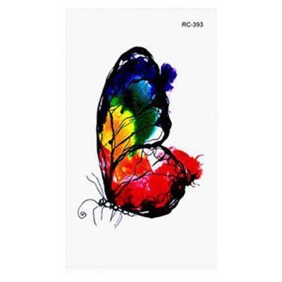 Butterfly Pattern Temporary Tattoo
