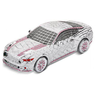 Buy PINK AND SILVER Luxurious 1:14 Scale Zinc-plated Resin Model Car for $501.23 in GearBest store