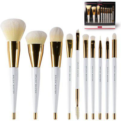 BrushMaster BM - S09 - C 10PCS Professional Brushes