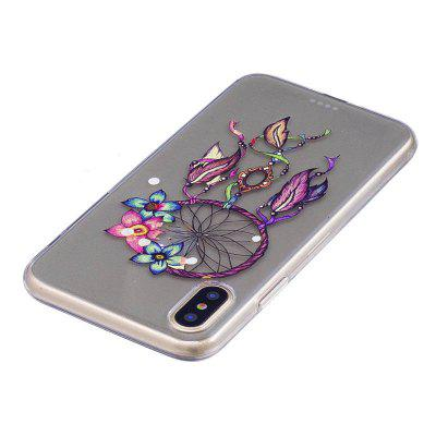 Colorful Dream Catcher Style TPU Soft Mobile Case for iPhone XiPhone Cases/Covers<br>Colorful Dream Catcher Style TPU Soft Mobile Case for iPhone X<br><br>Compatible for Apple: iPhone X<br>Features: Back Cover<br>Material: TPU<br>Package Contents: 1 x Cover Case<br>Package size (L x W x H): 15.00 x 8.00 x 1.80 cm / 5.91 x 3.15 x 0.71 inches<br>Package weight: 0.0180 kg<br>Product size (L x W x H): 14.00 x 7.00 x 0.80 cm / 5.51 x 2.76 x 0.31 inches<br>Product weight: 0.0170 kg<br>Style: Dream Catcher, Pattern, Colorful, Ultra Slim