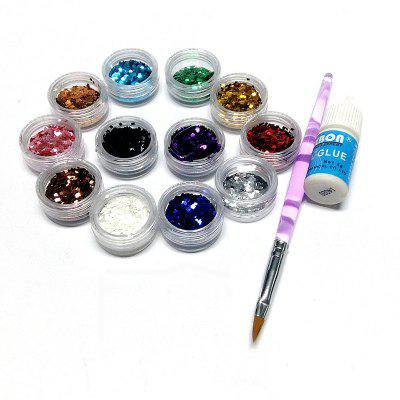 DIY Nail Art Decorative Combo Set