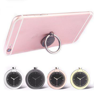 Rotating Degree Modern Metal Phone Ring HolderStands &amp; Holders<br>Rotating Degree Modern Metal Phone Ring Holder<br><br>Features: Adjustable Stand<br>Material: Zinc Alloy<br>Package Contents: 1 x Holder<br>Package size (L x W x H): 6.50 x 4.50 x 1.50 cm / 2.56 x 1.77 x 0.59 inches<br>Package weight: 0.0280 kg<br>Product size (L x W x H): 3.60 x 3.60 x 0.60 cm / 1.42 x 1.42 x 0.24 inches<br>Product weight: 0.0200 kg<br>Type: Stand