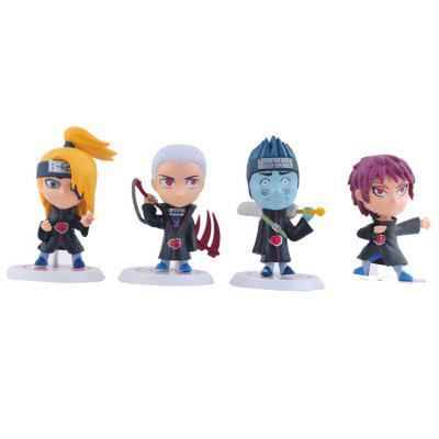 Animation Action Figure Design Toy Resin Model - 11pcs / setMovies &amp; TV Action Figures<br>Animation Action Figure Design Toy Resin Model - 11pcs / set<br><br>Completeness: Finished Goods<br>Gender: Boys<br>Materials: Resin<br>Package Contents: 11 x Cartoon Model Toy<br>Package size: 22.00 x 6.00 x 13.00 cm / 8.66 x 2.36 x 5.12 inches<br>Package weight: 0.3350 kg<br>Product size: 6.00 x 8.00 x 8.00 cm / 2.36 x 3.15 x 3.15 inches<br>Product weight: 0.3000 kg<br>Stem From: Japan<br>Theme: Movie and TV