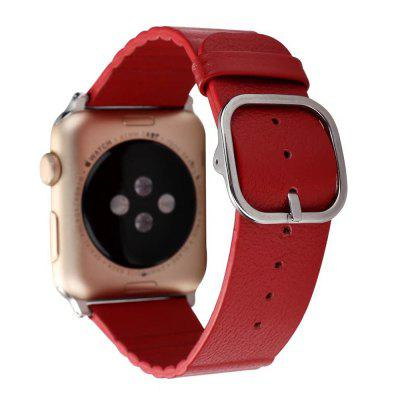 Modern Design Watchband for 38mm Apple WatchApple Watch Bands<br>Modern Design Watchband for 38mm Apple Watch<br><br>Function: Fixed watch<br>Material: Genuine Leather<br>Package Contents: 1 x Watchband<br>Package size: 19.00 x 5.00 x 1.50 cm / 7.48 x 1.97 x 0.59 inches<br>Package weight: 0.1300 kg<br>Product size: 18.00 x 4.00 x 0.50 cm / 7.09 x 1.57 x 0.2 inches<br>Product weight: 0.1200 kg