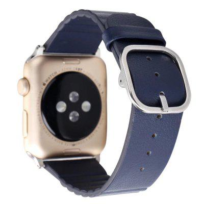 Durable Modern Design Watchband for 42mm Apple WatchApple Watch Bands<br>Durable Modern Design Watchband for 42mm Apple Watch<br><br>Function: Fixed watch<br>Material: Genuine Leather<br>Package Contents: 1 x Watchband<br>Package size: 19.00 x 5.00 x 1.50 cm / 7.48 x 1.97 x 0.59 inches<br>Package weight: 0.1200 kg<br>Product size: 18.00 x 4.00 x 0.50 cm / 7.09 x 1.57 x 0.2 inches<br>Product weight: 0.1000 kg