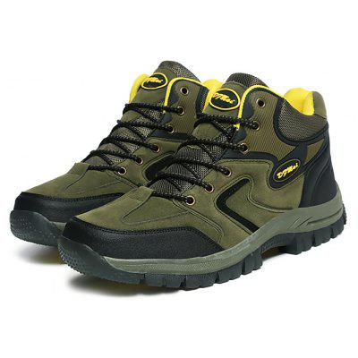 Male Hiking Durable Water Resistance Ankle Top Sneakers