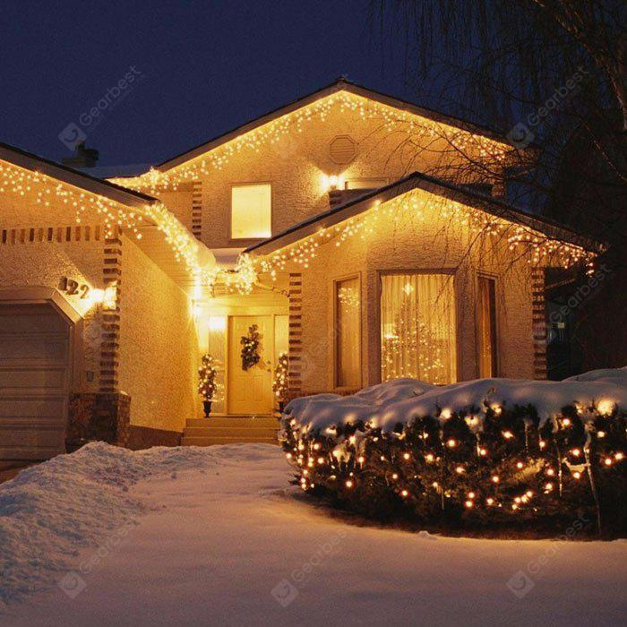 Kwb led christmas lights outdoor decoration lights 35m droop led kwb led christmas lights outdoor decoration lights 35m droop led curtain icicle string lights white aloadofball Image collections
