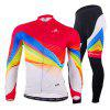 NUCKILY Cycling Suit - COLORFUL
