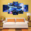 5PCS YSDAFEN Aircraft Printed Painting Canvas Print - COLORMIX