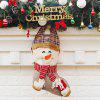 Christmas Snowman Candy Bag Shape Socks Decoration - COLORMIX