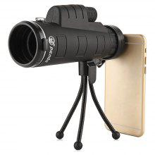 PANDA 35X 50mm Monocular Compass Phone Clip Telescope