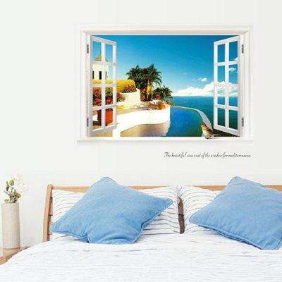 Buy Creative 3D Effect DIY Removable Window Wall Sticker, COLORMIX, Home & Garden, Home Decors, Wall Art, Wall Stickers for $9.09 in GearBest store