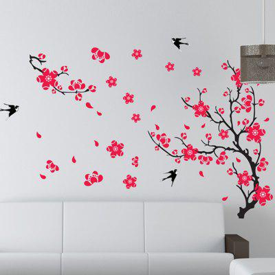 Buy Creative DIY Removable Plum Blossom Decal Wall Sticker, COLORMIX, Home & Garden, Home Decors, Wall Art, Wall Stickers for $9.09 in GearBest store