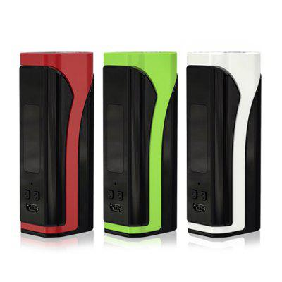 Original Eleaf iKuun i80 TC Box Mod with 3000mAhTemperature Control Mods<br>Original Eleaf iKuun i80 TC Box Mod with 3000mAh<br><br>Accessories type: MOD<br>APV Mod Wattage: 80W<br>APV Mod Wattage Range: 51-100W<br>Battery Capacity: 3000mAh<br>Battery Form Factor: 18650<br>Battery Quantity: 2pcs ( not included )<br>Brand: Eleaf<br>Material: Aluminum Alloy<br>Mod: Temperature Control Mod<br>Model: iKuun i80<br>Package Contents: 1 x Mod, 1 x USB Cable, 1 x English User Manual<br>Package size (L x W x H): 12.00 x 8.00 x 4.00 cm / 4.72 x 3.15 x 1.57 inches<br>Package weight: 0.2000 kg<br>Product size (L x W x H): 8.00 x 3.80 x 2.70 cm / 3.15 x 1.5 x 1.06 inches<br>Product weight: 0.1250 kg<br>Temperature Control Range: 100 - 315 Deg.C / 200 - 600 TC Deg.F<br>Type: Electronic Cigarettes Accessories
