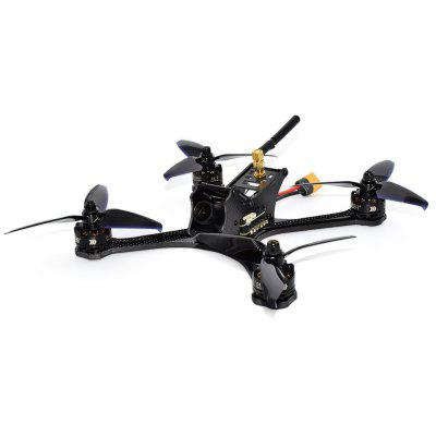 FuriBee DarkMax 220mm FPV Racing Drone - BNF WITH DSMX RECEIVER BLACK