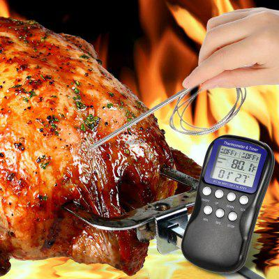 Digital Cooking Thermometer Food Timer 225802301
