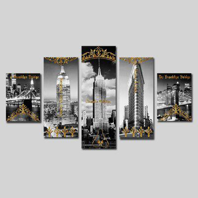 Buy Qiaojiahuayuan Set 20 5 Panels Canvas Print COLORMIX Home & Garden > Home Decors > Wall Art > Prints for $23.01 in GearBest store