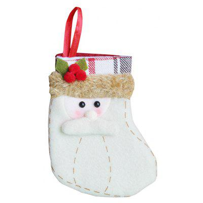 small size christmas snowman shape stockings decoration - Small Christmas Stocking Decorations