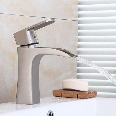 Modern Waterfall Single Handle Fink Faucet