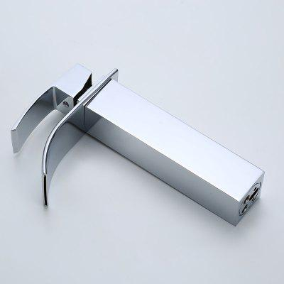 Modern Waterfall Single Handle Faucet de pia de cozinha